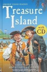 Usborne Young Reading Series Two - Tresure Island - Book & Audio CD (2006)
