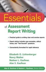 Essentials of Assessment Report Writing (ISBN: 9780471394877)