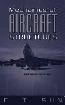 Mechanics of Aircraft Structures (ISBN: 9780471699668)