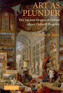 Art as Plunder - Margaret M Miles (2002)