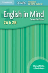 English in Mind Levels 2A and 2B Combo Testmaker CD-ROM and Audio CD - Alison Greenwood (2001)
