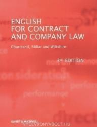 English for Contract and Company Law (2009)