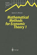 Mathematical Methods for Economic Theory (2010)