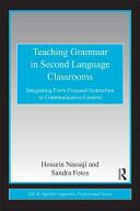 Teaching Grammar in Second Language Classrooms - Hossein Nassaji (2010)