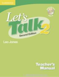 Let's Talk Level 2 Teacher's Manual 2 with Audio CD (2004)