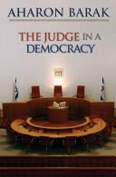 Judge in a Democracy - Aharon Barak (2008)