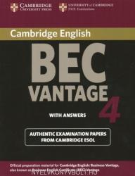Cambridge BEC 4 Vantage Student's Book with answers - Cambridge ESOL (2004)