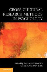 Cross-Cultural Research Methods in Psychology (2011)