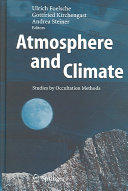 Atmosphere and Climate - Studies by Occultation Methods (2006)