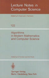 Algorithms in Modern Mathematics and Computer Science - A. P. Ershov, D. E. Knuth (1981)