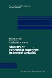 Stability of Functional Equations in Several Variables (2012)