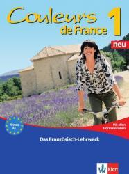 """Couleurs de France Neu 1 - Lehr- und Arbeitsbuch mit Beiheft """"Extra"""" und allen Hrmaterialien (2010)"""