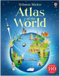 Sticker Atlas of the World - Alice Pearcey (2013)