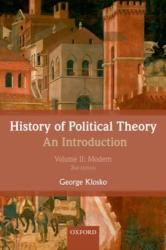 History of Political Theory, Volume II: An Introduction: Modern (2013)