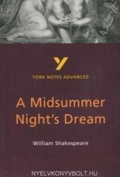 Midsummer Night's Dream: York Notes Advanced (2001)