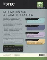 BTEC First in Information and Creative Technology Student Book - Eddie Allman, Alan Jarvis, Allen Kaye, Richard McGill, Daniel Richardson, Neela Soomary, Ben Elson, Paul Winser (2012)