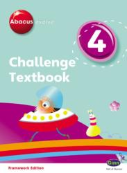 Abacus Evolve Challenge Year 4 Textbook - Adrian Pinel (2008)