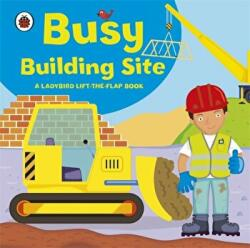 Ladybird lift-the-flap book: Busy Building Site - Amanda Archer (2011)