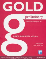 Gold Preliminary Maximiser with Key (2013)