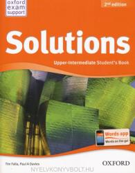 Solutions Upper-Intermediate 2nd Edition Student's Book (2013)
