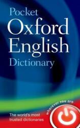 Pocket Oxford English Dictionary (2013)