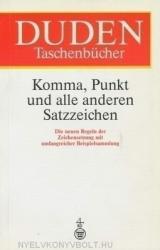 Duden Komma, Punkt und alle anderen Satzzeichen (ISBN: 9783411049134)
