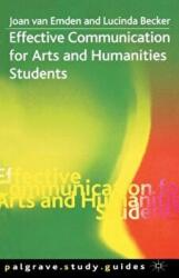 Effective Communication for Arts and Humanities Students (ISBN: 9780333984871)