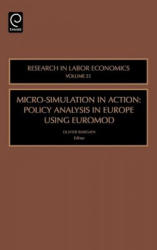Micro-Simulation in Action - Policy Analysis in Europe Using EUROMOD (ISBN: 9780762313471)