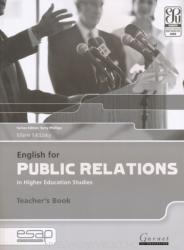 English for Public Relations in Higher Education Studies (ISBN: 9781859645338)