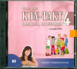 Kon-takt 4 lehrbuch, arbeitsbuch audio CD (ISBN: 9789631972917)