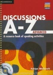 Discussions A-Z Advanced Book and Audio CD (ISBN: 9781107686977)