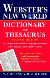 Webster's New World Dictionary and Thesaurus - Agnes (ISBN: 9780764563393)
