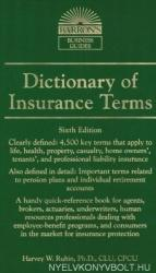 Dictionary of Insurance Terms (2013)