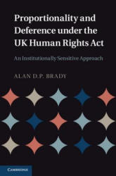Proportionality and Deference Under the UK Human Rights Act - An Institutionally Sensitive Approach (2012)