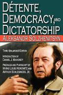 Detente, Democracy and Dictatorship (2009)