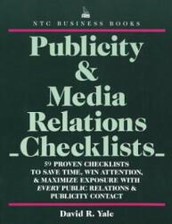 Publicity & Media Relations Checklists (2005)