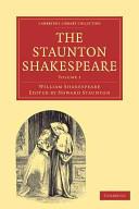 Staunton Shakespeare 3 Volume Paperback Set (2002)