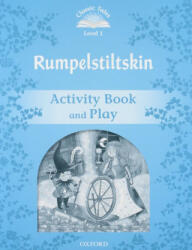Classic Tales Second Edition: Level 1: Rumplestiltskin Activity Book & Play, Paperback (ISBN: 9780194238632)