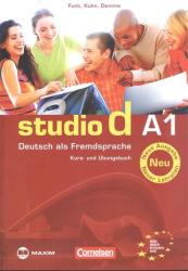 Studio d A1 Kurs- und Übungsbuch Neu - CD melléklettel (2013)