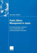 Public Affairs Management in Japan (2004)