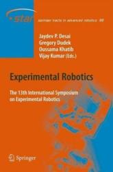 Experimental Robotics - The 13th International Symposium on Experimental Robotics (2013)