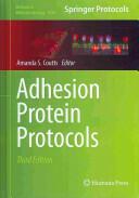 Adhesion Protein Protocols (2013)