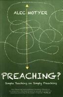 Preaching? - Alec Motyer (2013)