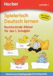 Rechtschreib-Rätsel für das 1. Schuljahr, Lernstufe 1 - Erich Krause, Agnes Holweck, Bettina Trust (2013)