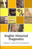 English Historical Pragmatics (2013)