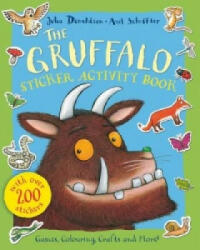 Gruffalo Sticker Activity Book - Julia Donaldson (2013)