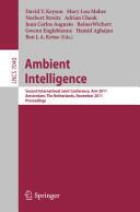 Ambient Intelligence (2011)