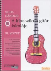 A klasszikus gitár iskolája III (ISBN: 9790801659439)