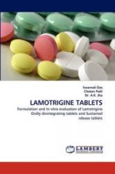 Lamotrigine Tablets - Swarnali Das, Chetan Patil, A. K. Jha (2011)