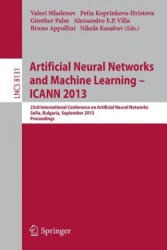 Artificial Neural Networks and Machine Learning -- ICANN 2013 - 23rd International Conference on Artificial Neural Networks, Sofia, Bulgaria, Septemb (2013)
